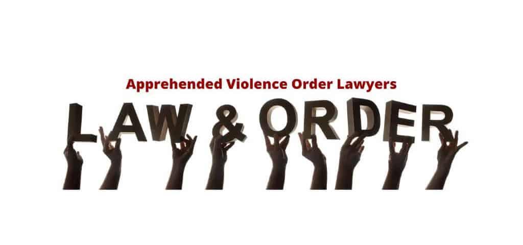 Apprehended Violence Order Lawyers Sydney