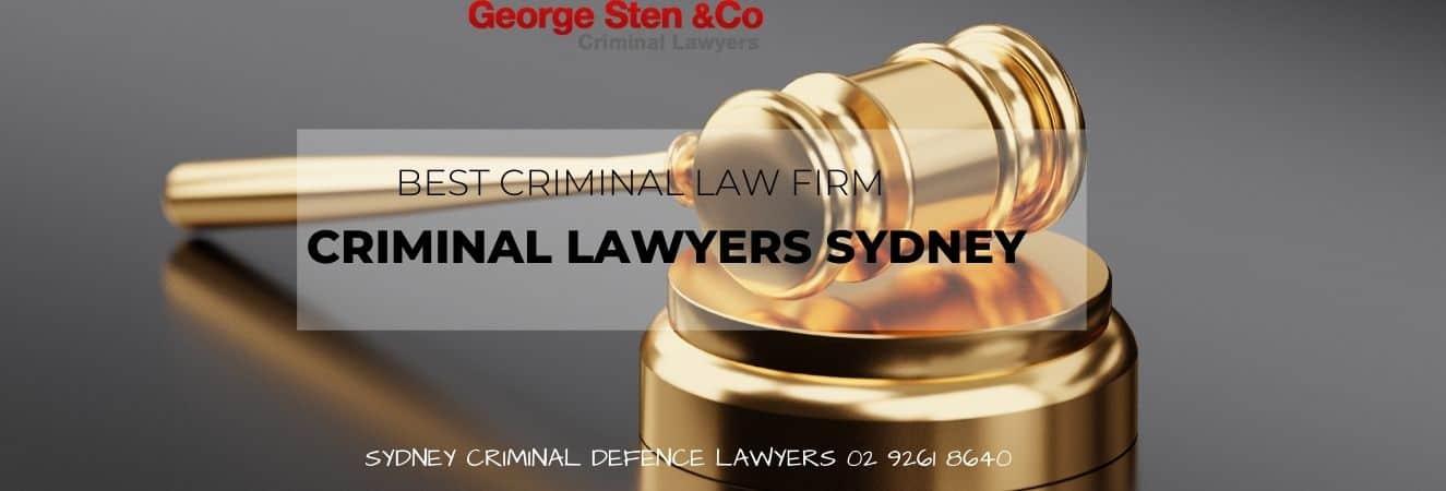Choosing the Best Criminal Lawyer in Sydney