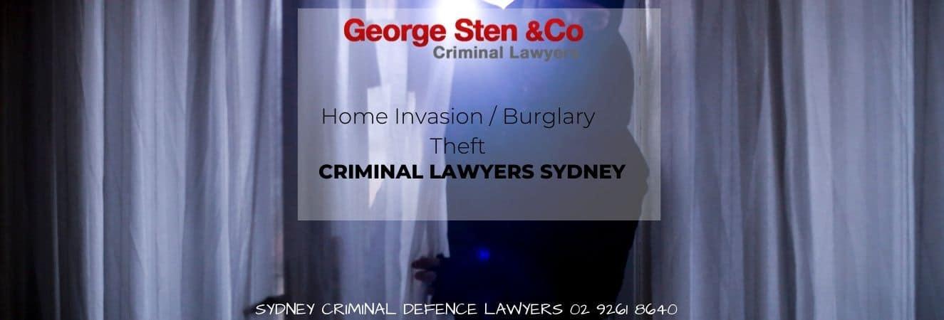 Home Invasion, Burglary & Theft