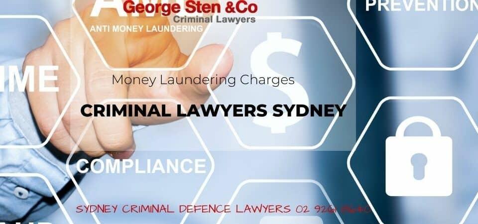 Money Laundering - Criminal Lawyers Sydneyd - George Sten & Co