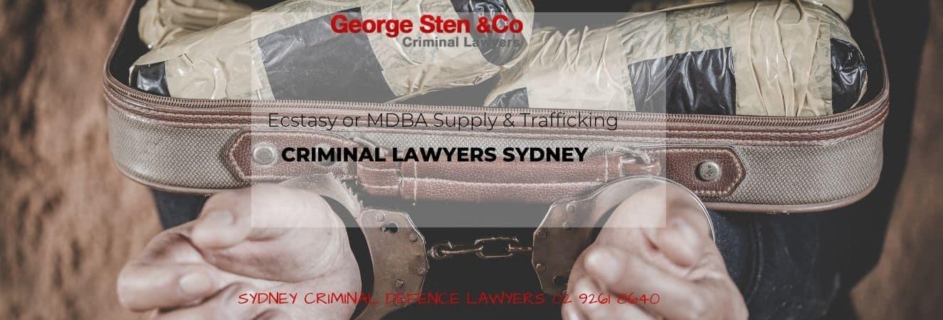 Ecstasy or MDMA Supplying and Trafficking