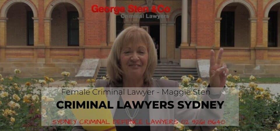 Sydney Female Criminal Lawyers - Maggie Sten