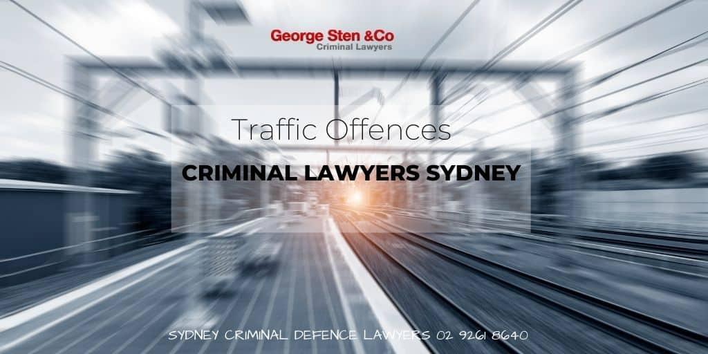 Traffic Offences - Traffic Lawyers Sydney - George Sten & Co